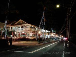 ハワイ島カイルアコナ アリイドライブ
