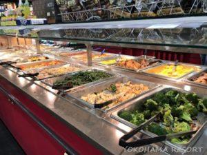 ホールフーズ ハワイ カイルア デリ 昼食