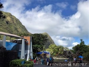 シーライフパーク 景色 山の景色 ハワイ オアフ島