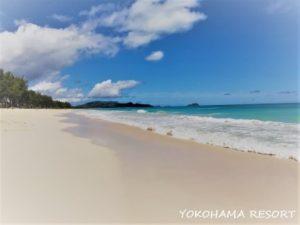 ワイマナロビーチ ハワイ 美しいビーチ 白い砂浜