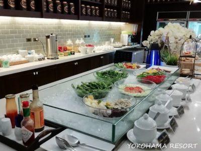 ドンムアン空港コーラルラウンジ食事