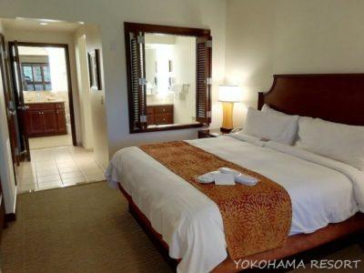 ハワイ コオリナ コオリナリゾート マリオットコオリナ 1BR ベッドルーム