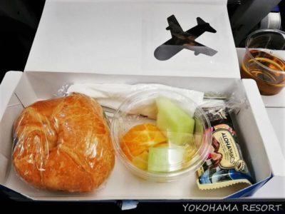 ANA A380 エコノミー 軽食