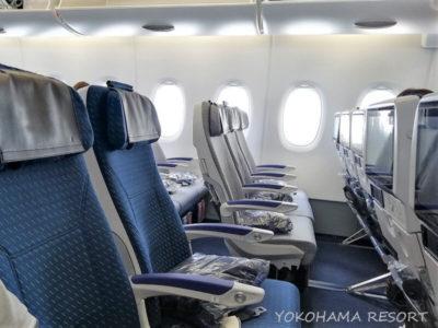 ANA A380 エコノミー 機内