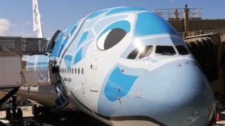 ANA A380 フライングホヌ1号機