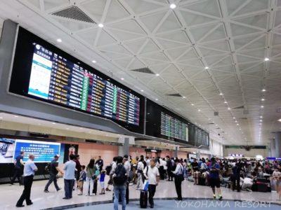 台湾桃園国際空港 到着ロビー