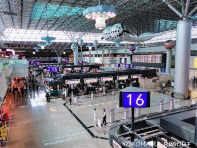 台湾桃園国際空港 出発ロビー