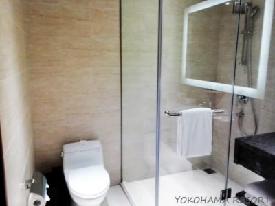 コートヤード台北 トイレとシャワー