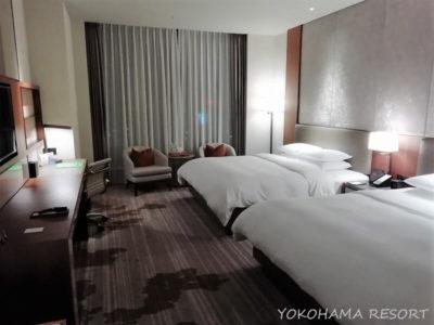 台湾 台北 コートヤード台北 客室 ベッド