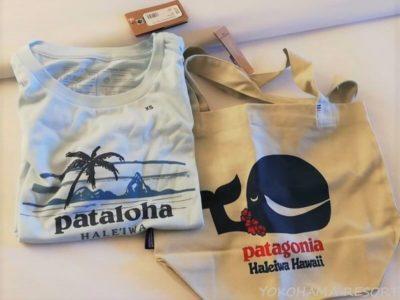 パタゴニア ハレイワ店 トートバッグ Tシャツ