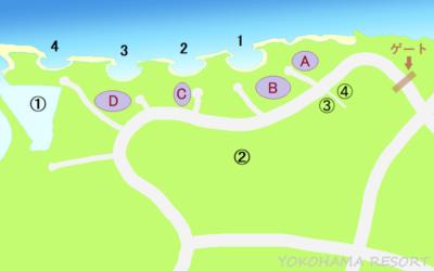 ハワイ オアフ島 コオリナ地図