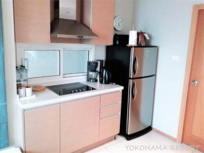 バンコク旅行 マリオットバケーションクラブ エンパイアプレイス2BR キッチン