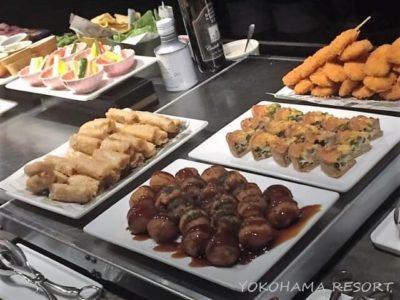 コートヤードバイマリオット新大阪ステーション ラウンジ 食事