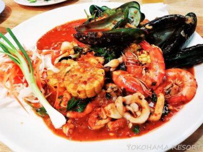 タイ バンコク旅行 海鮮煮込み