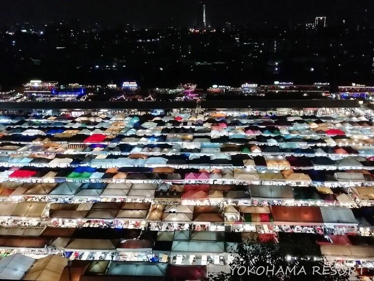 バンコク旅行 タラートロットファイ・ラチャダー