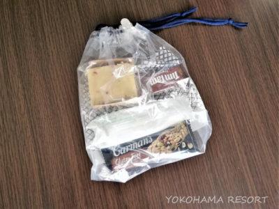 ANA NH880シドニー羽田 機内食 軽食