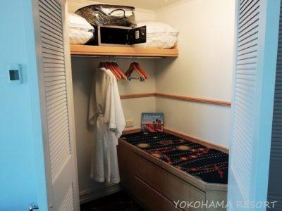 マリオットバケーションクラブサーファーズパラダイス メインベッドルームのクローゼット