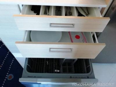 マリオットバケーションクラブサーファーズパラダイス キッチン 食洗器