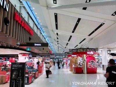 シドニー空港 制限エリア内 土産物店