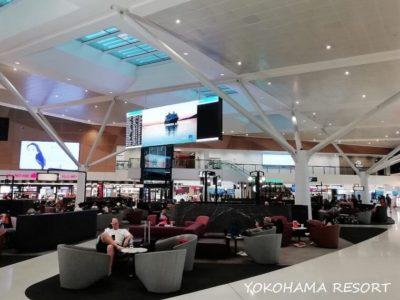 シドニー空港 制限エリア内 飲食街