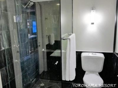シェラトングランドシドニーハイドパーク バスルーム トイレ