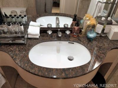 神戸ベイシェラトン 洗面台