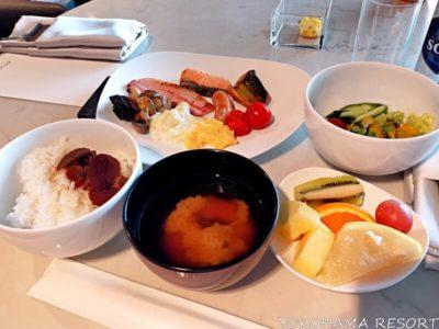 メズム東京 クラブラウンジ 朝食