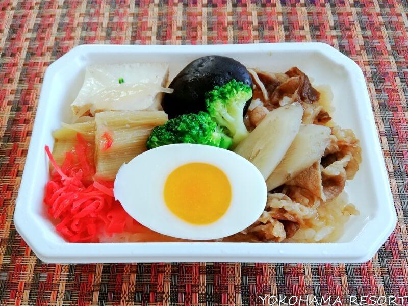 ANA機内食通販 牛すき焼き丼