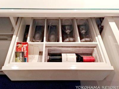 東京マリオット ミニバーのワイン