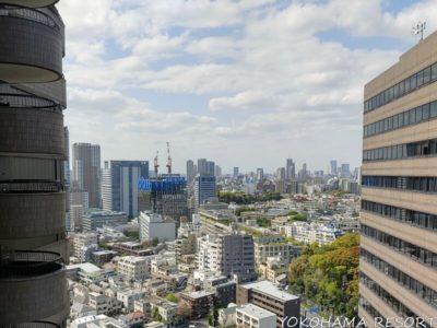 東京マリオット 客室からの眺望