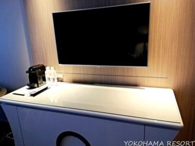 東京マリオット 客室 テレビ