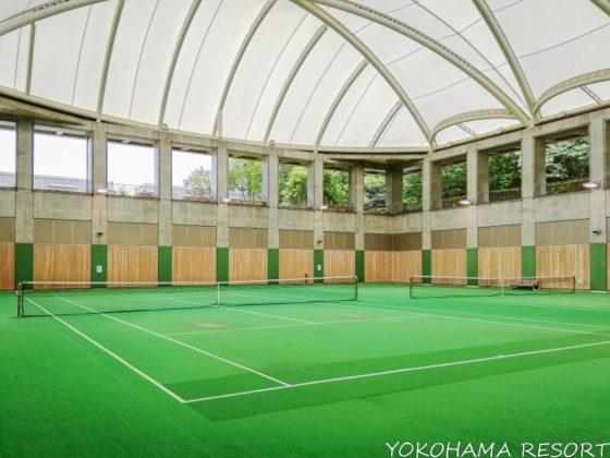 ヒルトン小田原リゾート&スパ 屋内テニスコート