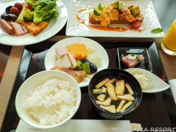 コンラッド東京 朝食ブッフェ